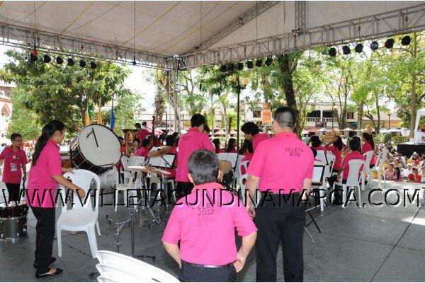 Festival Departamental de Bandas Musicales en Villeta Cundinamarca