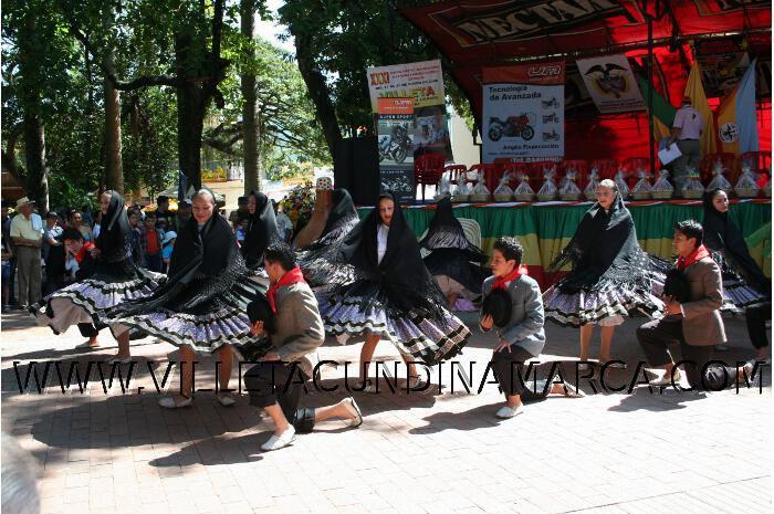 danzas y muestra cultural en Villeta Cundinamarca
