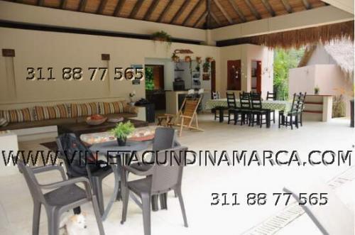 Alquiler Casa Finca Casa de Paja en Villeta Cundinamarca