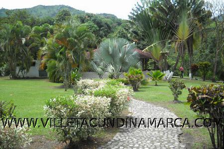 Alquiler Finca Casa Quinta la Escalinata en Villeta Cundinamarca