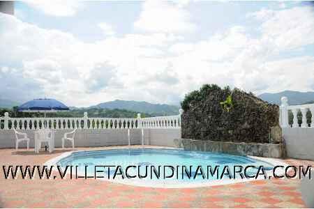 Hotel la Cascada en Villeta Cundinamarca Colombia