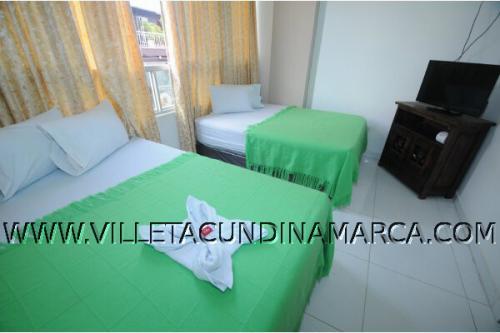 Hotel Paris en Villeta Cundinamarca Colombia