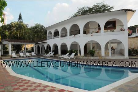 Alquiler Finca las Palmas en Villeta Cundinamarca Colombia