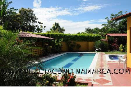Alquiler Finca Mariquitena en Villeta Cundinamarca